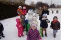 Zimowe zabawy i szaleństwa na świeżym powietrzu