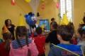 I urodziny Bibliomisia w Bibliotece Publicznej w Strzyżowie