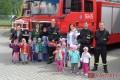 Odwiedziny w Państwowej Powiatowej Straży Pożarnej w Strzyżowie