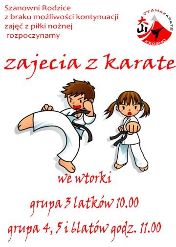 zajecia karate